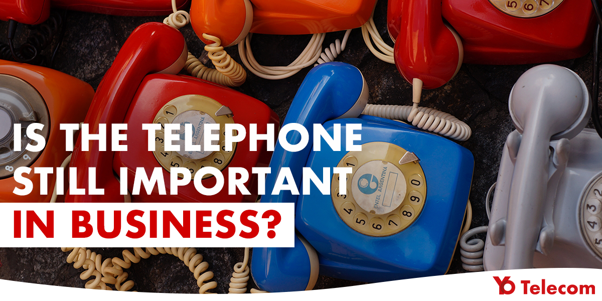 telephone still important in business