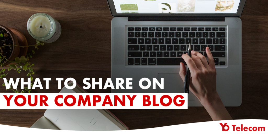 Share on Company Blog